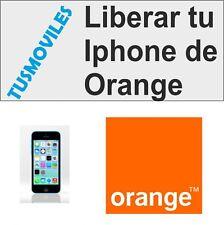 Libera Liberar Iphone 6 Orange 4 4S 5 5S 5c 3GS 3 todos Super Rápido 1-6 horas