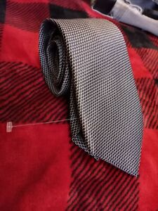 Giorgio armani Neck Tie Slim Italy 🇮🇹 Rare Nwot