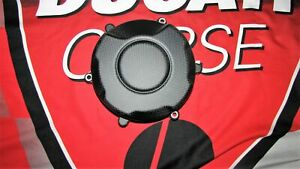 Fits for Ducati Panigale V4 Carbon Fine Matte Motor Cover Para-Aramid 66775272