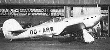 R-36 Belgium Air Force Renard Airplane Wood Model Replica Small Free Shipping