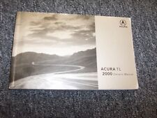 2000 Acura 3.2TL TL Original Owner's Owners User Operator Manual 3.2L V6