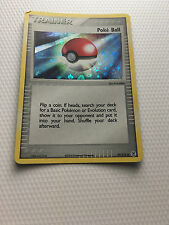 (1) Poke Ball 95/112 Reverse Holo EX Fire Red Leaf Green Pokemon Card Free Ship!
