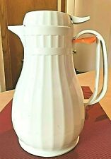 New ListingVintage Pampered Chief White Coffee/Tea Carafe Hot/Cold Germany Pot Pitcher