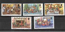 Guernsey 1982 Christmas Sg263-267 MNH/UMM