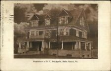 Saint Marys PA HC Stackpole Home c1910 Postcard