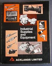 Original Vintage Acklands Ltd. Industrial Supplies & Equipment Catalog 560 Pages