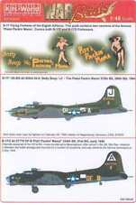 Kits World Decals 1/48 BOEING B-17 FLYING FORTRESS 390th & 91st Bomb Groups