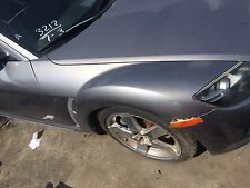 2004 2005 2006 2007 2008 MAZDA RX-8 FRONT RIGHT FENDER