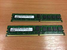 IBM 1930 1024MB (2 X 512 MB) 276-pin 533 MHz DDR-2 SDRAM DIMM 312A 12r8251 15r7166