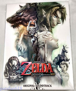 The Legend of Zelda Twilight Princess HD ORIGINAL SOUNDTRACK 3-Disc CD JP Import