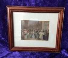 1842 Queen Victoria & Albert at Christening of King Edward VII - George Hayter