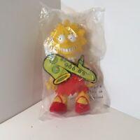 "1990 The Simpsons Burger King Lisa Simpson Plush Doll 8"" RARE"