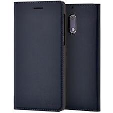 Original Nokia Slim Flip Case Schutz Cover Hülle für Nokia 6 - CP-301 Blau