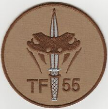 NETHERLANDS. DUTCH  Special Operations Task Force TF 55 patch. Vlcro. Unused