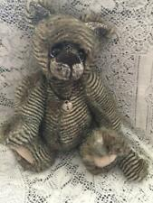 FLYNN KAYCEE BEARS LIMITED EDITION PLUSH DESIGNED BY KELSEY CUNNINGHAM