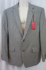 Alfani Mens Blazer Sz 44 L Black White Slim Fit Suit Separates Jacket Business