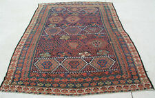 "Rare Antique Persian Tribal Jaff Jaf Kurd Rug Carpet 65x94 "" Exceptional Colors"