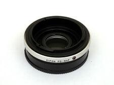 Anello conversione adattatore Corpo Sony-A Ottica Canon FD