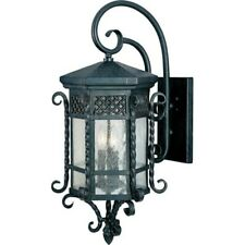 Maxim Scottsdale 3-Light Outdoor Wall Lantern Country Forge -30125CDCF