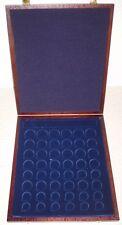 Muenzkassette:2001/48:275x230x25 mm für 6 EURO-Saetze.1 Cent bis 2 EURO