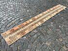 Patchwork rug, Wool rug, Runner rug, Handmade, Turkish, Vintage | 1,5 x 11 ft