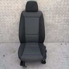 BMW 1 SERIES E87 Cloth Interior Front Left Passenger Seat with Airbag N/S