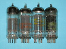 6FQ7 / 6CG7 - AUDIO GUITAR AMPLIFIER HAM RADIO TV tube - lot of (4)