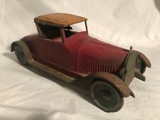 Turner Dayton Pressed Steel Friction Drive Packard LARGE Toy Car Schieble