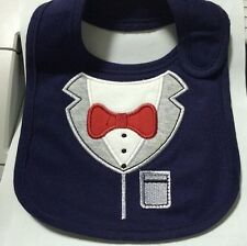 Quality Waterproof Feeding Baby Bib in Superman Tuxedo Bow Tie Styles Novelty