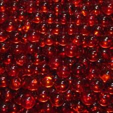 """Marble King Two Pounds 9/16"""" (14mm) Transparent Orange Glass Marbles 99351019"""
