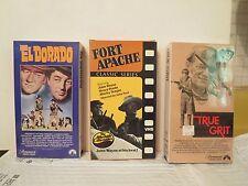 10 Videos (El Dorado, Allegheny Uprising, Fort Apache, O.K. Corral, Silverado)