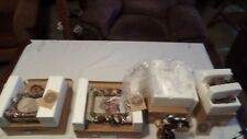 BOYDS BEARS CARVERS CHOICE LOT #9 NIB SET OF 4 DIFFERENT ITEMS