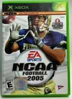 NCAA Football 2005 EA Sports Microsoft Xbox Complete w/ Manual