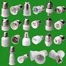 25+ TYPES OF LIGHT SOCKET ADAPTOR, BASE CONVERTERS, EXTENDERS, LAMP HOLDERS