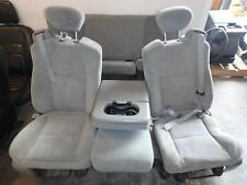 99-07 FORD F250 F350 FRONT REAR SEAT CONSOLE GREY CLOTH MANUAL OEM POWERSTROKE