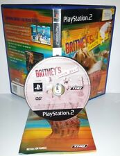 BRITNEY'S DANCE BEAT SPEARS - Playstation 2 Ps2 Play Station Bambini Gioco Game