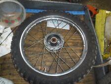 HONDA 1974 MR50  Elsinore #2  AHRMA  front rim/wheel tire