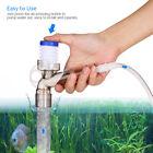 Manual Air-pressing Aquarium Tank Water Changer Gravel Cleaner Sand Washer K3G6