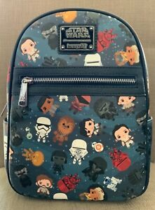 Disney Loungefly Star Wars: The Rise of Skywalker Mini Backpack NWT