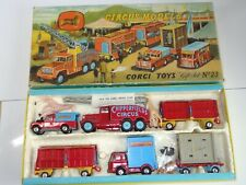 corgi CHIPPERFIELDS gs 23 CIRCUS GIFT SET - 2nd issue