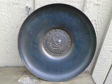 "Metal Classic Greek Roman Bowl/Wall Hanging 13"" in Diameter"