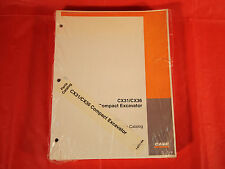 Case CX31 & CX36 Compact Excavator Parts Catalog Manual