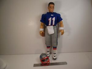 "STARTING LINEUP NE PATRIOTS DREW BLEDSOE 12"" FIGURE 1/6 NFL Football Doll"
