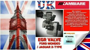 Cambiare EGR Valve-VE360086 Ford Mondeo /Jaguar X-Type (Real OE Quality Assured)