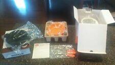 Scentsy VELATA Fondue Warmer & Extra Fondue bowl - Orange / Clementine Pedestal