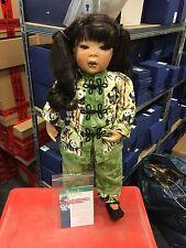 Inge tenbusch Porzellan Puppe Aisha 73 cm. Top Zustand