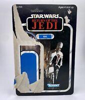 Vintage Star Wars Return Of The Jedi 8D8 Action Figure Cardback 1983 Kenner