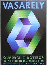 Josef Albers Museum, Quadrat Bottrop#Victor VASARELY # 1998, mint-