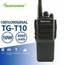 Quansheng TG-T10 Woki Toki 5w Radios Uhf Vhf Walkie Talkie 4000mAh Battery Radio