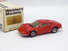Western Models 1/43 - Ferrari Dino 246 GT Rouge